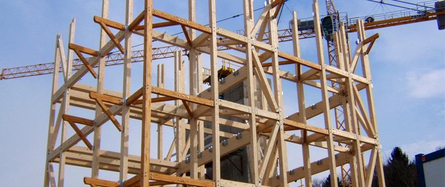 Construction immeuble en bois annecy et haute savoie - Lp charpente ...