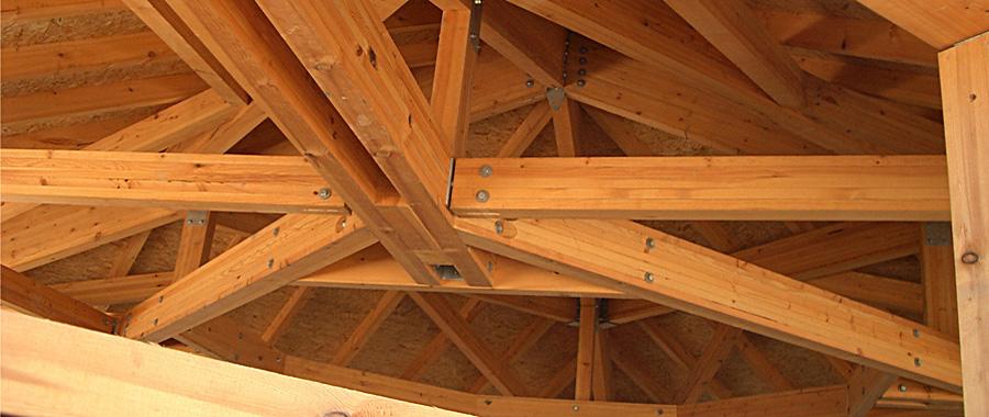 Les r alisations en bois d 39 annecy structures maison immeuble villa annecy - Lp charpente ...